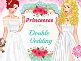 Принцессы Диснея: двойная свадьба