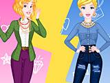 Принцессы Дисней: модная битва