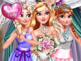 Принцессы Диснея: селфи на свадьбе