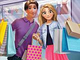 Рапунцель и Флин: день покупок