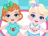 Няня малышки Барби