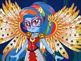 Девушки Эквестрии Радуга Дэш: кристальные крылья