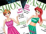 Принцессы Диснея: модный журнал