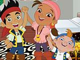 Джейк и Пираты Нетландии: переделки комнат