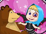Маша и Медведь Хэллоуин