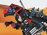 Собирать роботов: Мегалозавр