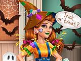Костюм пугала Виктории на Хэллоуин