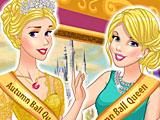 Принцессы Диснея королевы осеннего бала