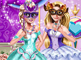 Принцессы Диснея: бал маскарад