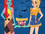Принцессы Диснея: Хэллоуин конкурсы