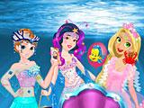 Принцессы Диснея русалки