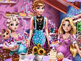 Принцессы Диснея: магазин сладостей
