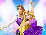 Рапунцель и Флинн танцуют балет