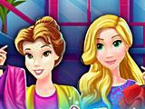 Принцессы Диснея: беременные Рапунцель и Белль