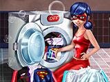 Леди Баг стирает костюмы