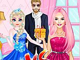 Эльза и Барби соперники в любви