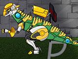 Роботы динозавры ремонт Стегозавра