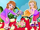 София и Эмбер садовники