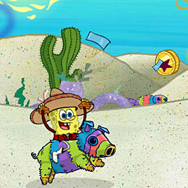 Губка Боб чокнутые пиньяты