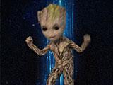 Стражи Галактики 2 танец малыша Грута