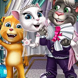Свадьба говорящего кота Тома и Анжелы