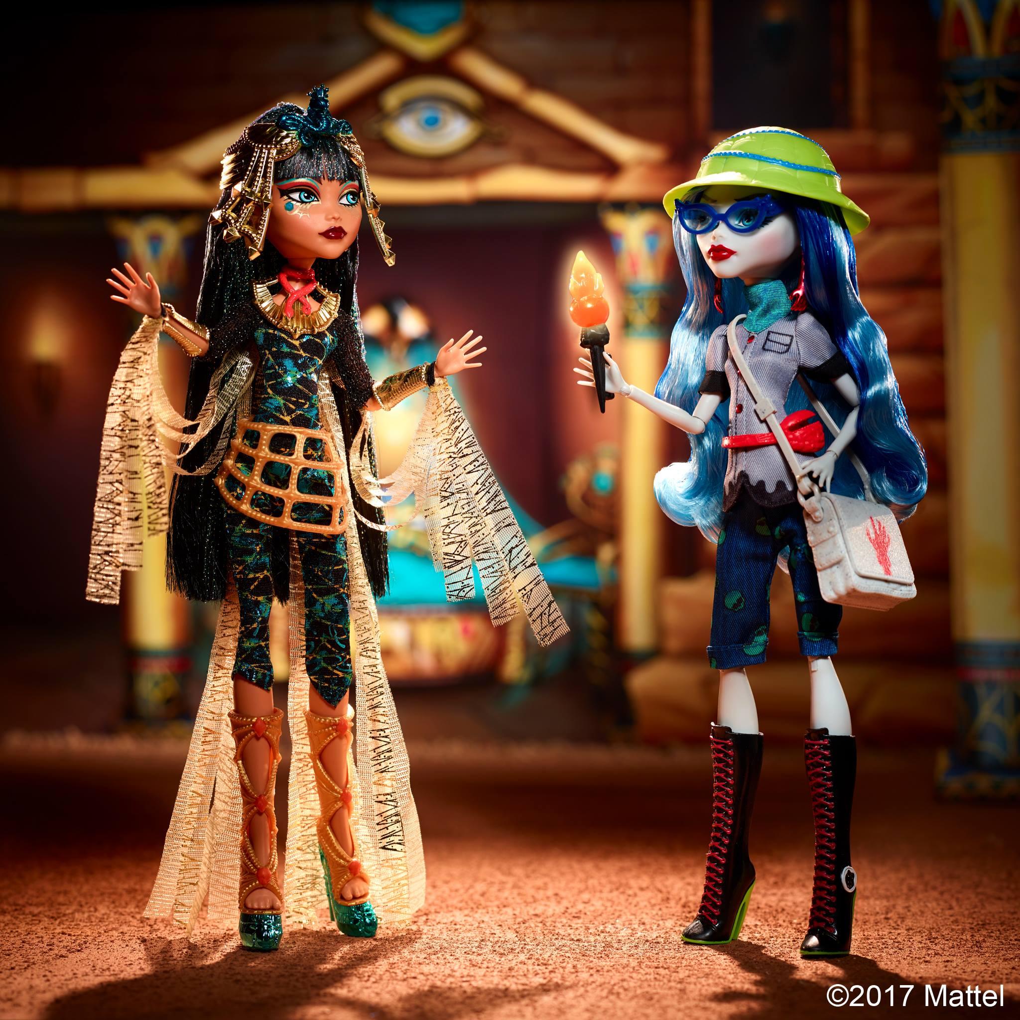 Новые куклы Монстер Хай 2017: Клео и Гулия