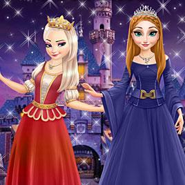 Принцессы Диснея Эльза и Анна: тематический парк