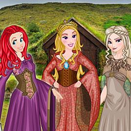 Принцессы Диснея: игра престолов