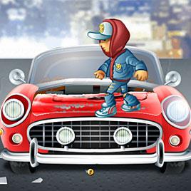 Сабвей Серф Джейк разбивает машины