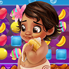 Моана в стране сладостей