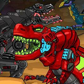 Приключения роботов динозавров