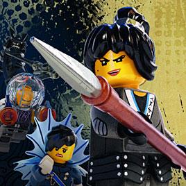 Лего Ниндзяго против армии акул