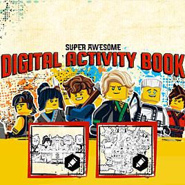 Лего Ниндзяго книга приключений