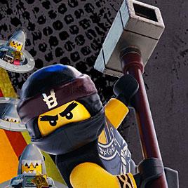 Лего Ниндзяго ударить воина укулу