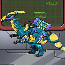 Роботы Динозавры приключения: молния Парейазавр