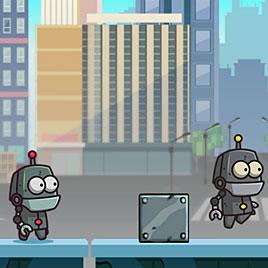 Роботы близнецы
