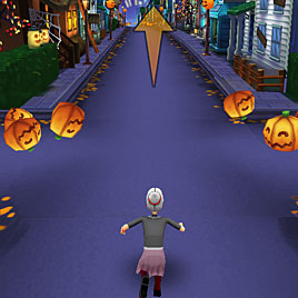 Злая бабушка Хэллоуинская деревня