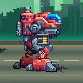 Стрелялка: Нео Робот