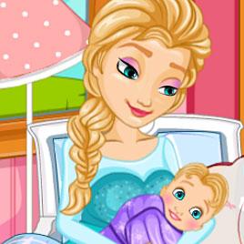 Холодное сердце: Королева Эльза рожает