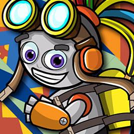 Бионик робот: бег