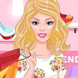 Барби: покупки с витрины