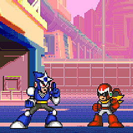 Мегамен 2 (Mega Man 2 The Power Fighters)