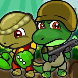 На двоих: приключения отряда динозавров