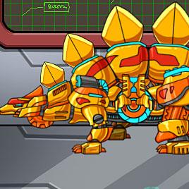 Приключение робота динозавра: Золотой Стегозавр