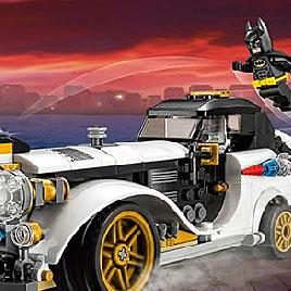 Лего Бэтмен: найди отличия машин