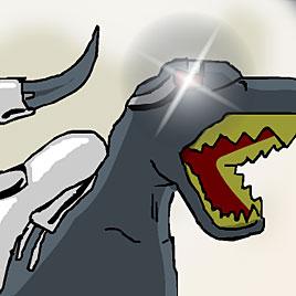 Летающий Робот Динозавр