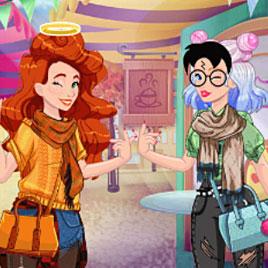 Инстаграм приключение Джесси и Одри