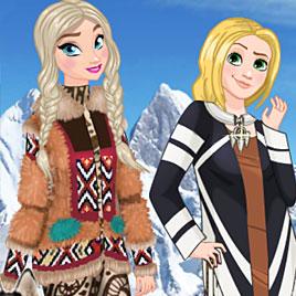 Принцессы Диснея: эскимосская мода