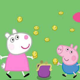 Свинка Пеппа: Золотые Монеты