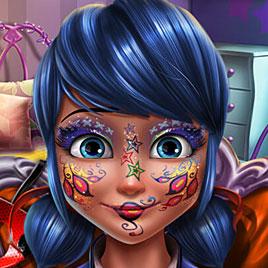 Новогодний макияж Леди Баг